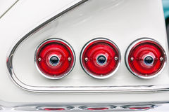 Car lights Stock Images