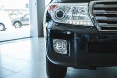 Car lights close up Stock Photos