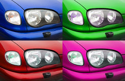 Car lights. Stock Images