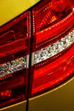 Car lights Stock Photography