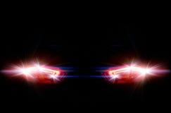 car lights rear στοκ φωτογραφίες με δικαίωμα ελεύθερης χρήσης