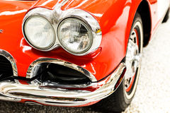 Car lights red Royalty Free Stock Photos