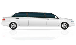 Car limousine vector illustration Royalty Free Stock Photos
