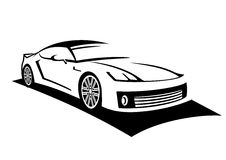 Car line art Stock Images