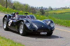 Car Lister Jaguar Knobbly BHL 16 from 1958 Stock Photo