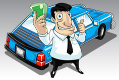 Car Loan vector illustration