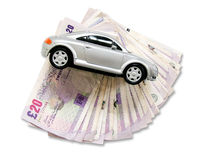 Car loan Royalty Free Stock Images