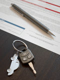 Car Loan Application Royalty Free Stock Images