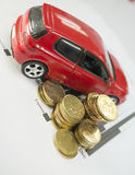 Car Loan concept Stock Images