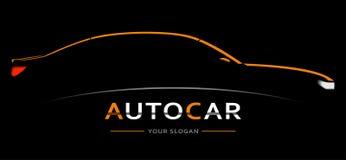 Car Logo Abstract Lines Vector. Vector illustration stock photos