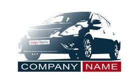 Car Logo Abstract Lines Vector. Vector illustration Royalty Free Stock Photos