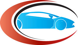 Car logo concept. Has been created as vector Royalty Free Stock Images