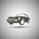 Car logo design. Transport vintage vector Royalty Free Stock Image