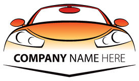 Car Logo. A car logo icon for a transportation company Stock Photo