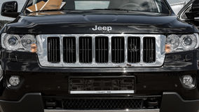 Car Logo Jeep Royalty Free Stock Photography