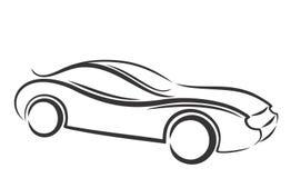 Car logo. Logo of the sports car Stock Image