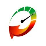 Car Logo TemplateWith Flat Color Stock Photo