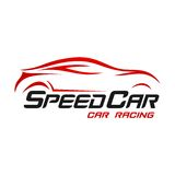 Car Logo TemplateWith Flat Color Royalty Free Stock Photography