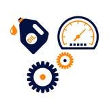 Car Logo TemplateWith Flat Color Stock Photos