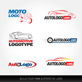 Car logotypes - car service and repair,  set. Car logo Stock Photography
