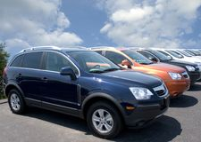 Car Lot Stock Images