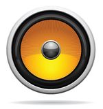 Car Loudspeaker Icon. Vector illustration for your artwork Stock Images