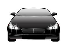Car made in 3d Royalty Free Stock Photos
