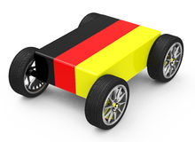 Car made in germany Royalty Free Stock Image