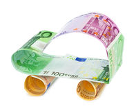 Car made of money Stock Images