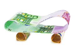 Car made of money Stock Photo