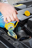 Car maintenance Royalty Free Stock Photos