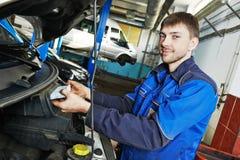 Car maintenance - air filter replacing Stock Photos