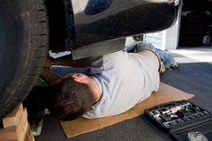 Car Maintenance and Repairs Royalty Free Stock Photography