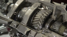Car Manufacturing. Engine. stock video footage