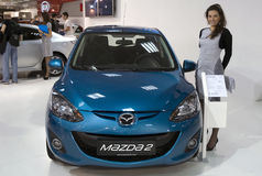 Car Mazda 2 Royalty Free Stock Image