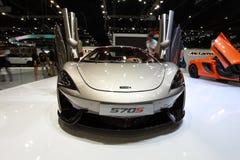 Car. Mclaren car in Motor Expo 2015 at Bangkok, Thailand stock photography