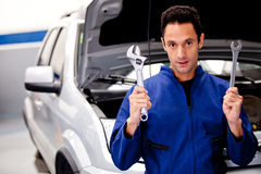 Car mechanic Stock Photos