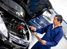 Car mechanic Stock Photo