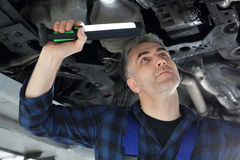 Car mechanic Royalty Free Stock Photography