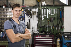 Car mechanic Royalty Free Stock Images