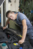 Car mechanic Royalty Free Stock Photos