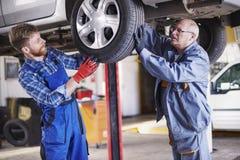 Car mechanics Royalty Free Stock Image