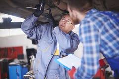 Car mechanics Royalty Free Stock Photo