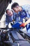 Car mechanics Stock Photos
