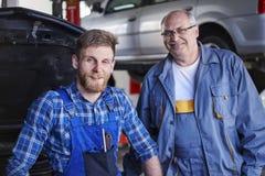 Car mechanics Royalty Free Stock Photography