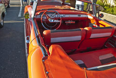 Am car meeting (1958 Chevrolet Impala) Stock Images
