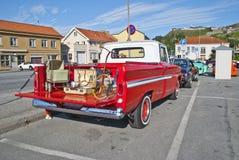 Am car meeting (1966 chevrolet custom 10 truck) Royalty Free Stock Image