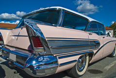 Am car meeting (buick century caballero 1958) Royalty Free Stock Images