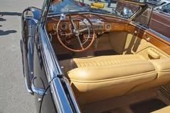 Am car meeting (cadillac convertible 1947) Royalty Free Stock Photography