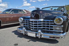 Am car meeting (cadillac convertible 1947) Royalty Free Stock Photography